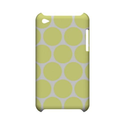 Big & Yellow Geeks Designer Line Polka Dot Series Slim Hard Case for Apple iPod Touch 4