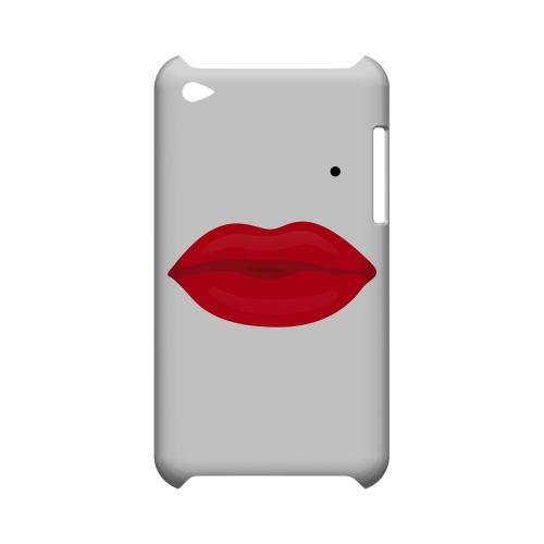 Glamour Lips Geeks Designer Line Heart Series Slim Hard Case for Apple iPod Touch 4