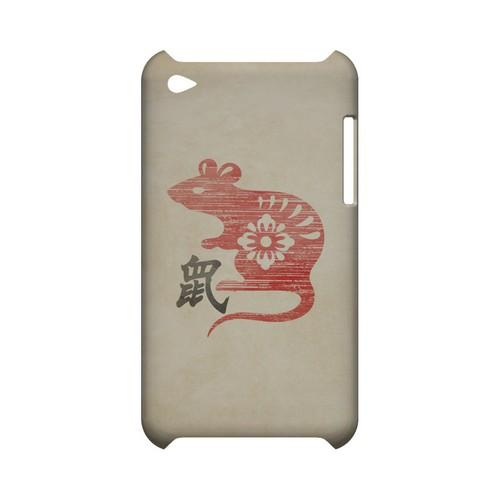 Grunge Rat Geeks Designer Line Chinese Horoscope Series Slim Hard Case for Apple iPod Touch 4