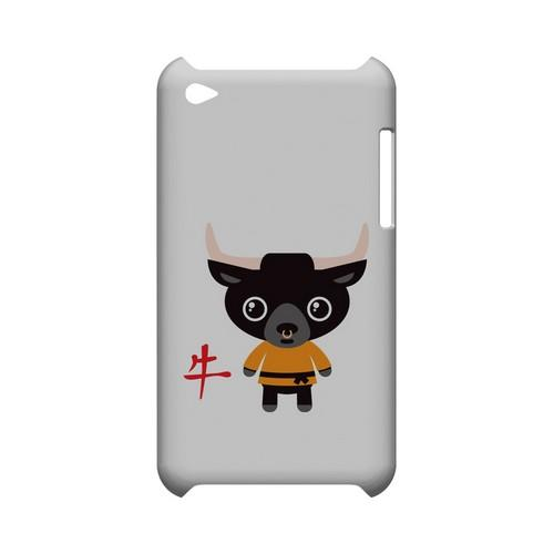 Ox on White Geeks Designer Line Chinese Horoscope Series Slim Hard Case for Apple iPod Touch 4