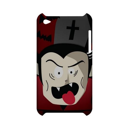Immature Vampire - Geeks Designer Line (GDL) Monster Mash Series Hard Back Cover for Apple iPod Touch 4