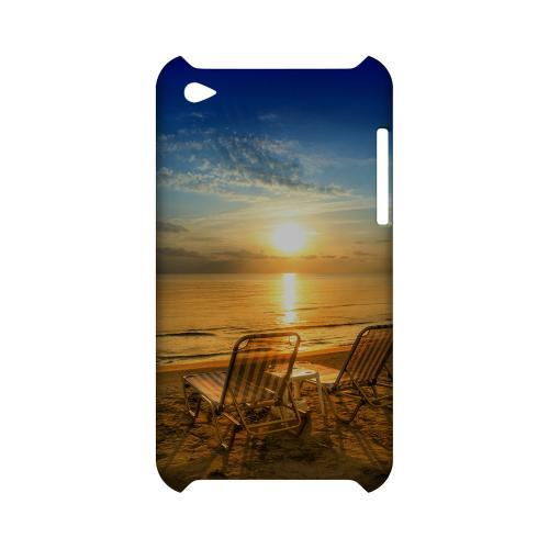 Beach Chair Sunrise Geeks Designer Line Beach Series Slim Hard Case for Apple iPod Touch 4