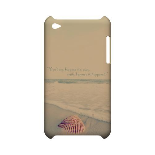 Don't Cry Geeks Designer Line Beach Series Slim Hard Case for Apple iPod Touch 4