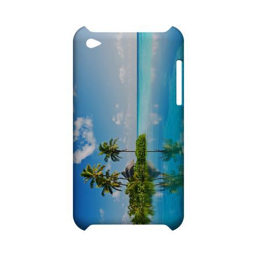 Tropical Paradise Geeks Designer Line Beach Series Slim Hard Case for Apple iPod Touch 4