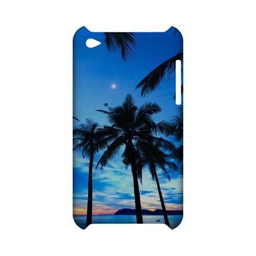 Tropical Sunset Geeks Designer Line Beach Series Slim Hard Case for Apple iPod Touch 4