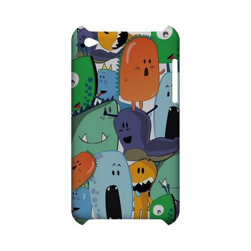 ZORGBLATS Gang on White - Geeks Designer Line (GDL) Monster Mash Series Hard Back Cover for Apple iPod Touch 4