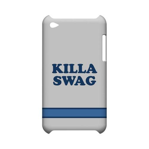 Killa Swag - Geeks Designer Line Swag Series Hard Case for Apple iPod Touch 4