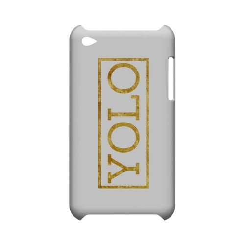 Gold YOLO - Geeks Designer Line YOLO Series Hard Case for Apple iPod Touch 4