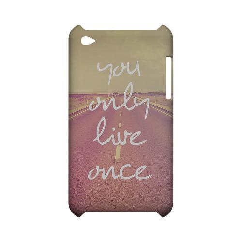 Open Road YOLO - Geeks Designer Line YOLO Series Hard Case for Apple iPod Touch 4