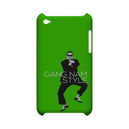 Green Gangnam Style - Geeks Designer Line Slim Back Cover for Apple iPod Touch 4