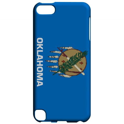 Oklahoma - Geeks Designer Line Flag Series Hard Back Case for Apple iPod Touch 5