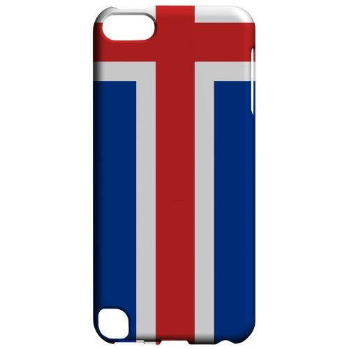 Geeks Designer Line (GDL) Slim Hard Case for Apple iPod Touch 5 - Iceland