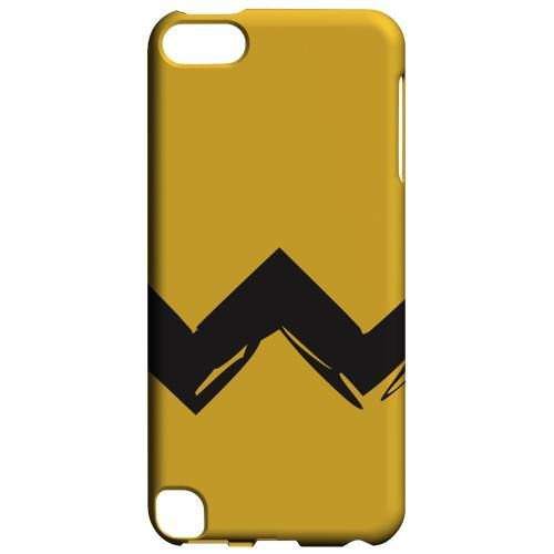 Geeks Designer Line (GDL) Slim Hard Case for Apple iPod Touch 5 - Yellow Good Grief!