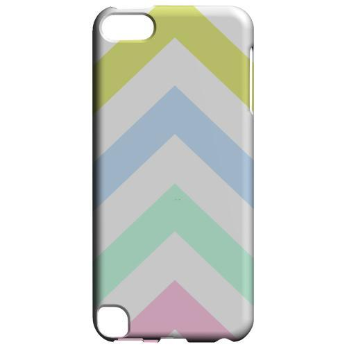 Geeks Designer Line (GDL) Slim Hard Case for Apple iPod Touch 5 - Pastel on White