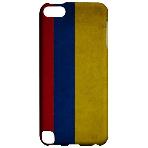 Geeks Designer Line (GDL) Slim Hard Case for Apple iPod Touch 5 - Grunge Colombia