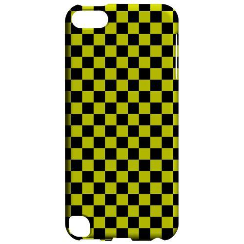 Geeks Designer Line (GDL) Slim Hard Case for Apple iPod Touch 5 - Yellow/ Black