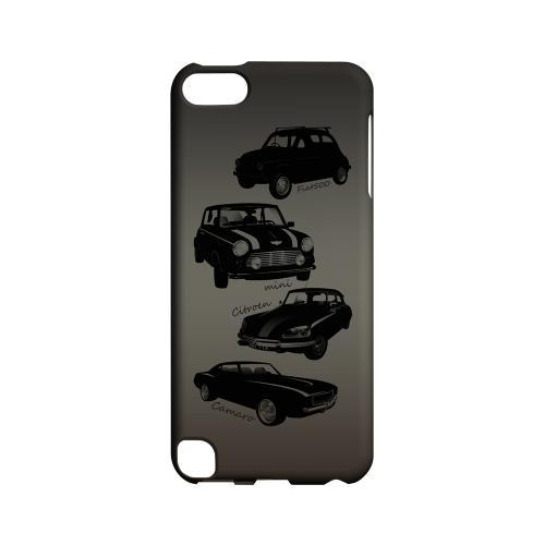 Classic Cars Fiat, Mini, Citroen, & Camaro - Geeks Designer Line Auto Series Hard Case for Apple iPod Touch 5