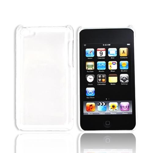 Luxmo Apple iPod Touch 4 Back Cover Case - Transparent Clear