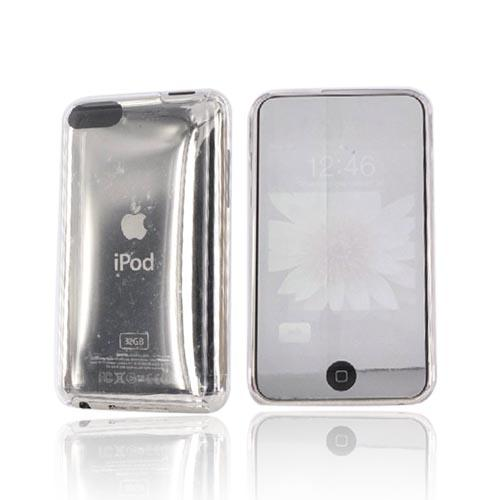 Premium Apple iPod Touch Hard Back Cover Case - Transparent Clear