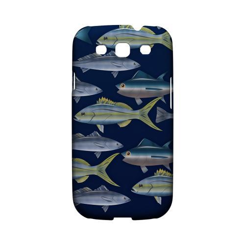 Geeks Designer Line (GDL) Fish Series Samsung Galaxy S3 Matte Hard Back Cover - Assorted Fish in the Sea