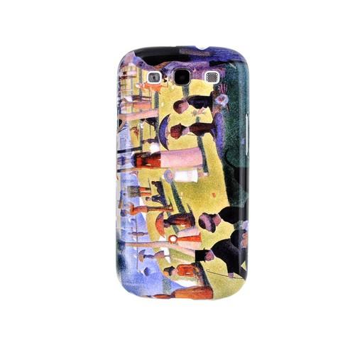 Geeks Designer Line (GDL) Samsung Galaxy S3 Georges Seurat Matte Hard Back Cover - Sunday Afternoon on the Island of La Grand Jatte