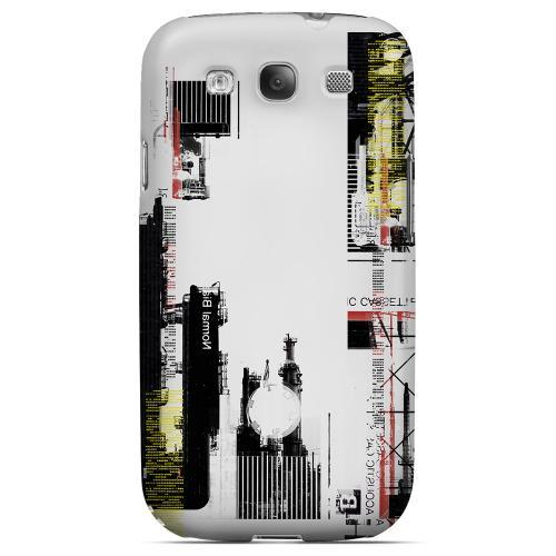 Geeks Designer Line (GDL) Retro Series Samsung Galaxy S3 Matte Hard Back Cover - Industrial District
