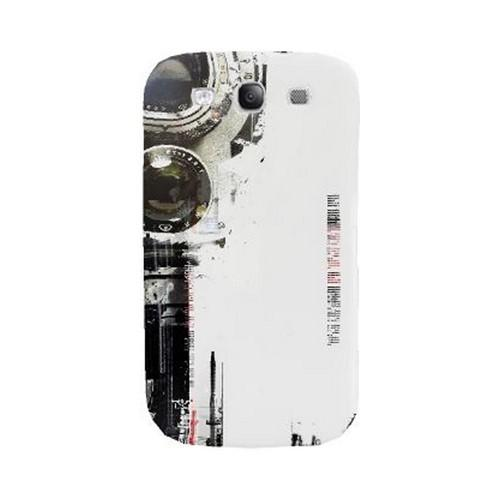 Geeks Designer Line (GDL) Retro Series Samsung Galaxy S3 Matte Hard Back Cover - The Tower