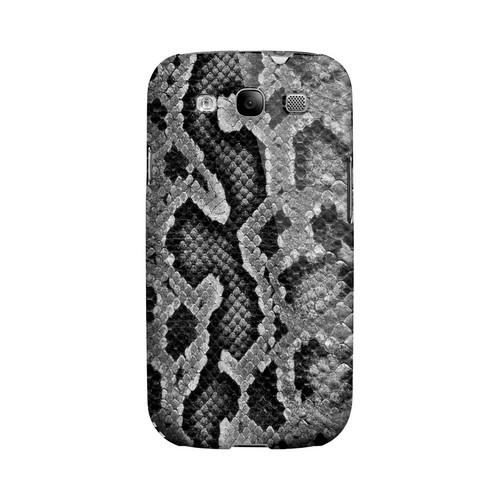 Gray Snake Skin Animal Series GDL Ultra Matte Hard Case for Samsung Galaxy S3 Geeks Designer Line