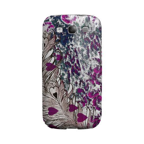 Feather Love Impact Resistant Geeks Designer Line Asian Print Series Matte Case for Samsung Galaxy S3