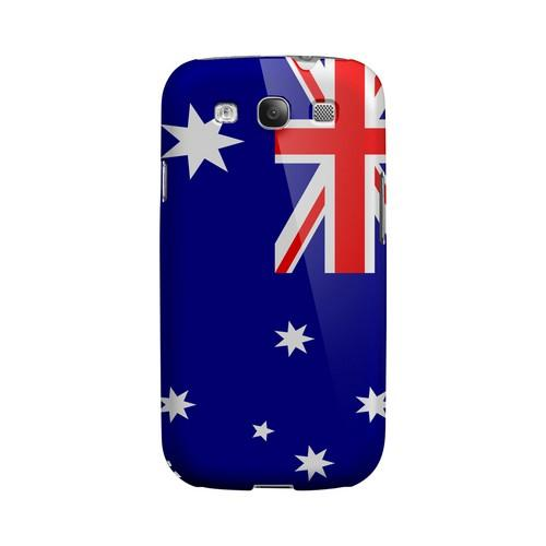 Australia Geeks Designer Line Flag Series Matte Hard Case for Samsung Galaxy S3
