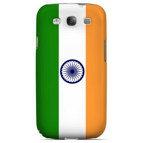 India Geeks Designer Line Flag Series Matte Hard Case for Samsung Galaxy S3