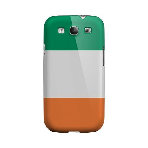 Ireland Geeks Designer Line Flag Series Matte Hard Case for Samsung Galaxy S3