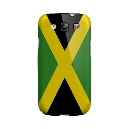 Jamaica Geeks Designer Line Flag Series Matte Hard Case for Samsung Galaxy S3