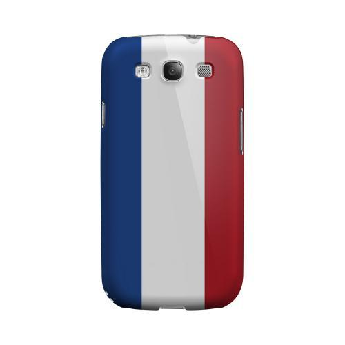 Netherlands Geeks Designer Line Flag Series Matte Hard Case for Samsung Galaxy S3