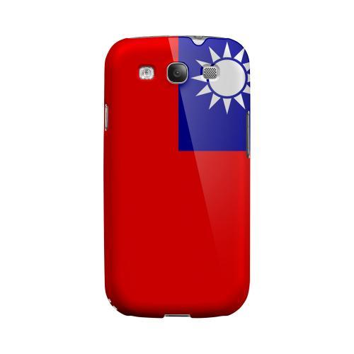 Taiwan Geeks Designer Line Flag Series Matte Hard Case for Samsung Galaxy S3