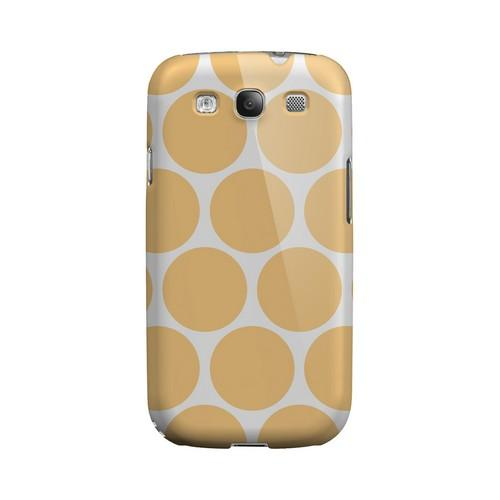 Big & Orange Geeks Designer Line Polka Dot Series Matte Hard Case for Samsung Galaxy S3