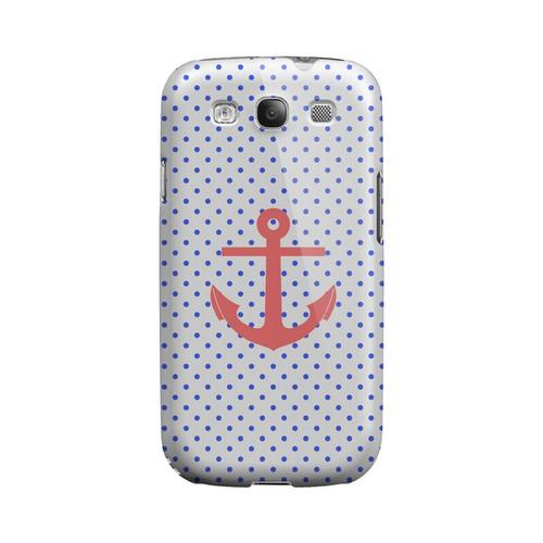 Anchor Geeks Designer Line Polka Dot Series Matte Hard Case for Samsung Galaxy S3