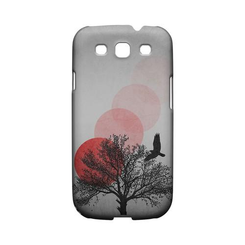 Sunset Fade Geeks Designer Line Polka Dot Series Matte Hard Case for Samsung Galaxy S3