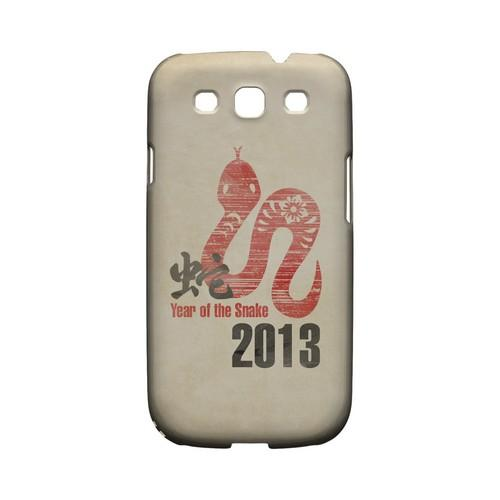 Grunge Snake Geeks Designer Line Chinese Horoscope Series Matte Hard Case for Samsung Galaxy S3