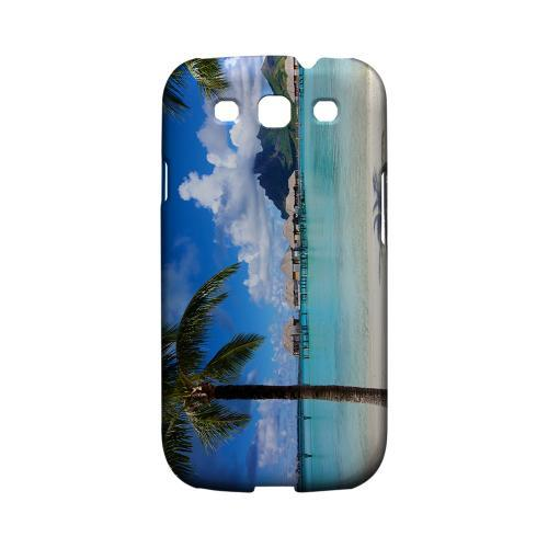 Bora Bora Geeks Designer Line Beach Series Matte Hard Case for Samsung Galaxy S3
