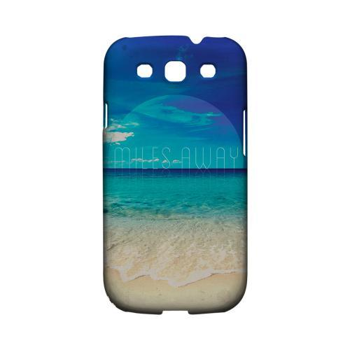 Miles Away Geeks Designer Line Beach Series Matte Hard Case for Samsung Galaxy S3