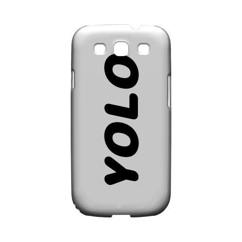 Rounded YOLO - Geeks Designer Line YOLO Series Matte Case for Samsung Galaxy S3