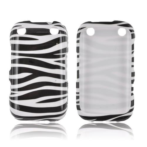 BlackBerry Curve 9310/9320 Hard Case - Black/ White Zebra