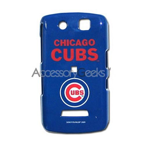 MLB Licensed Blackberry Storm 9530 Hard Case - Chicago Cubs