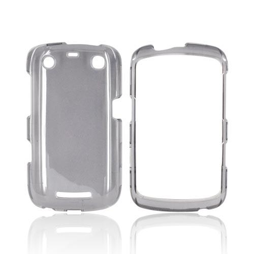 Blackberry Curve 9360/ Apollo Hard Case - Transparent Smoke