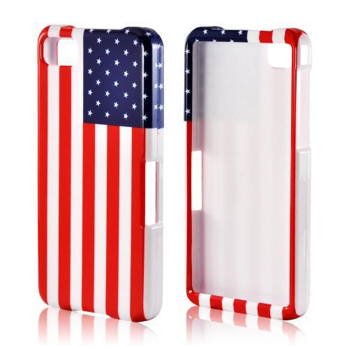 American Flag Hard Case for Blackberry Z10