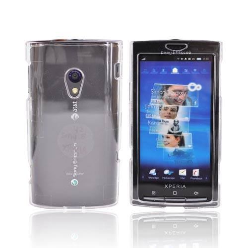 Sony Ericsson Xperia X10 Hard Case - Transparent Clear