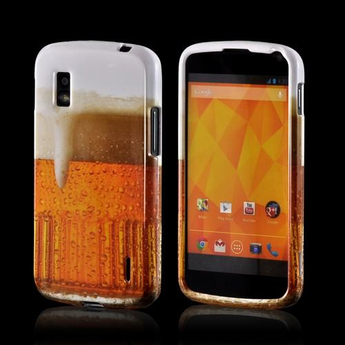 Golden Beer Hard Case for Google Nexus 4