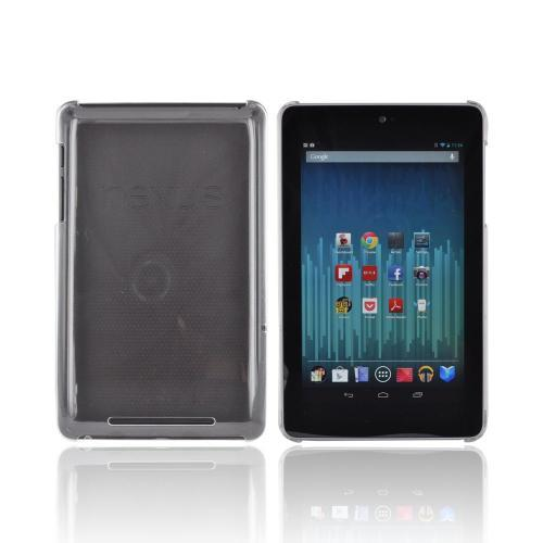 Google Nexus 7 Hard Back Case - Transparent Clear