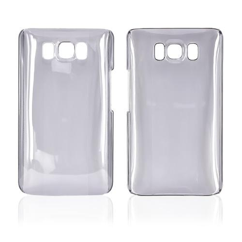 HTC HD2 Hard Back Cover Case - Transparent Smoke